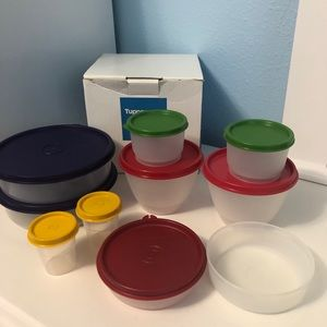 Tupperware NEW Bundle Of Storage Containers Boxed